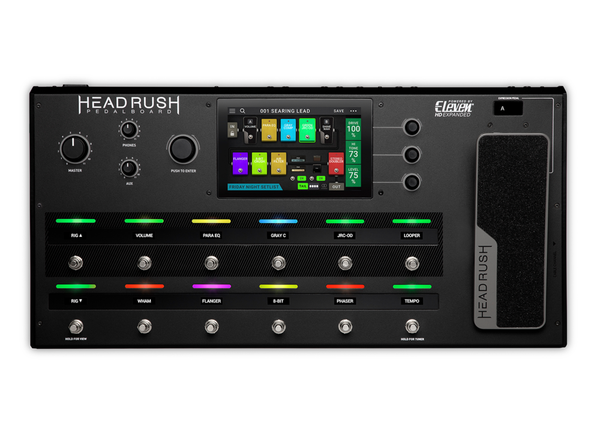 Headrush Eleven Rig Multi-Effects Pedalboard
