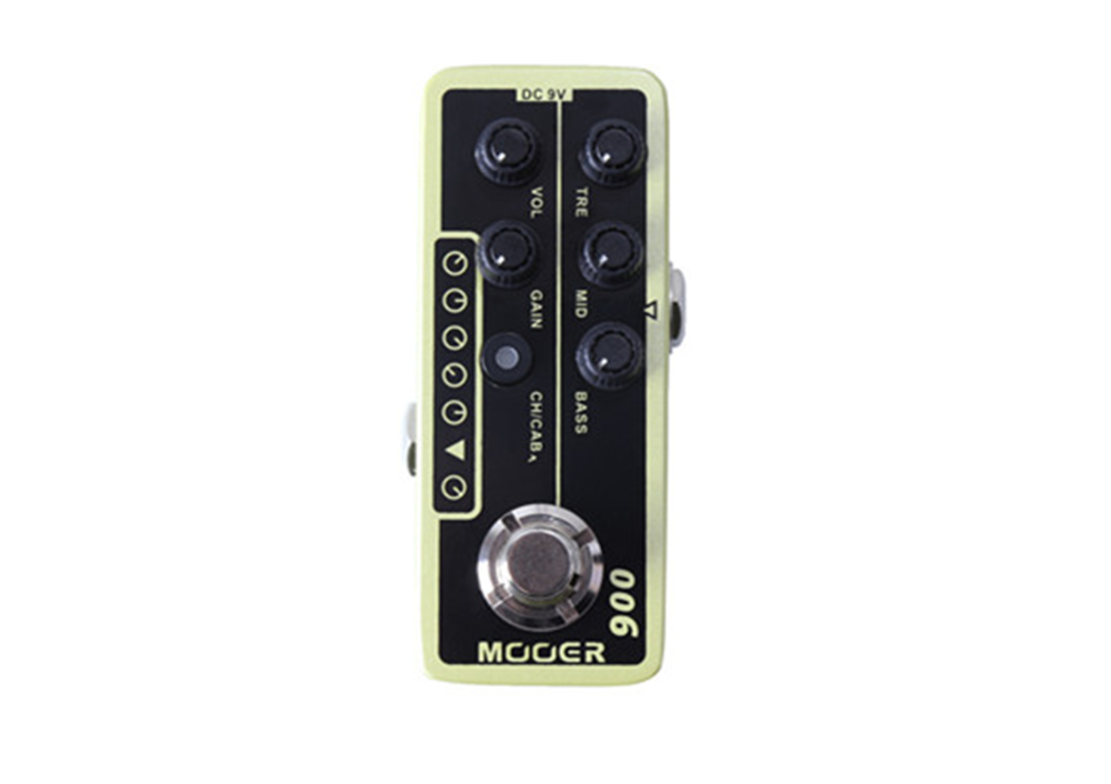 Mooer 006 Classic Deluxe Preamp Pedal