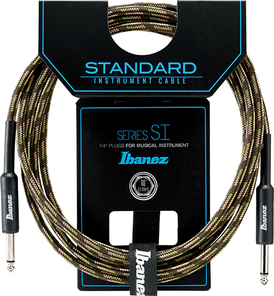 Ibanez SI10 Woven Guitar Cable 10 Foot