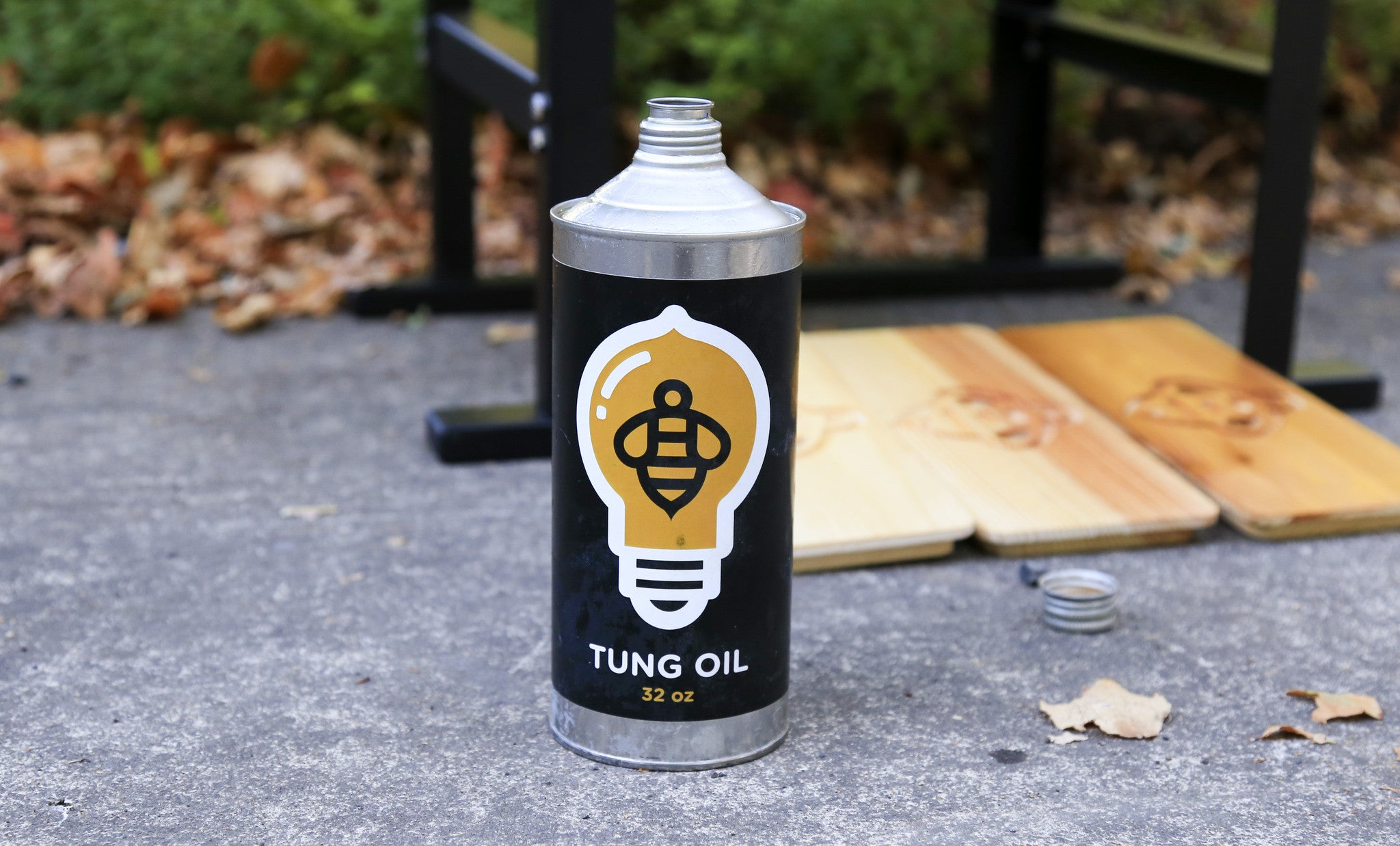 Safe for You, Safe for Your Bees: 100% Pure Tung Oil