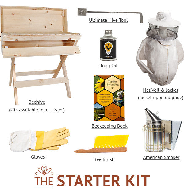 Give the Big Gift: All About Our Beehive Starter Kits
