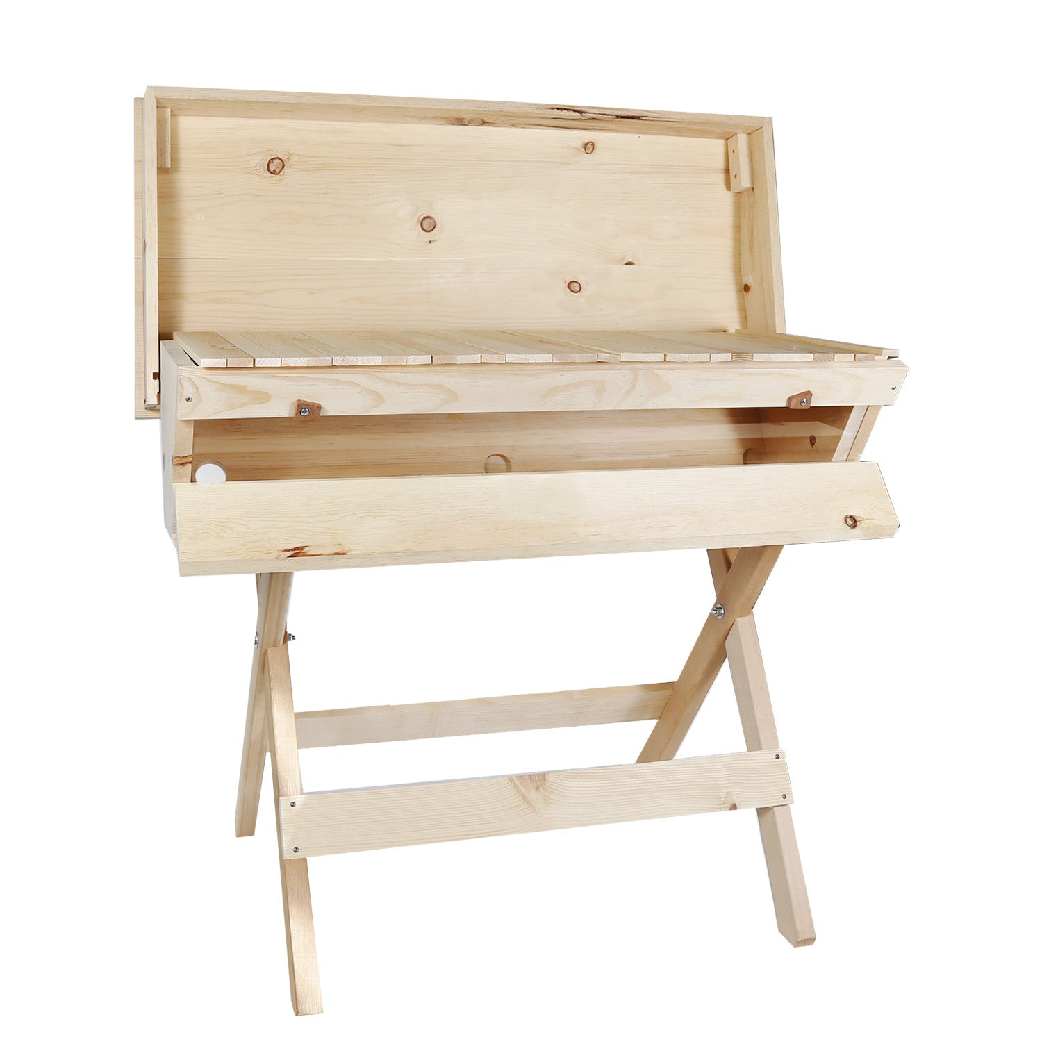 Warre and top bar hives now available in sugar pine!