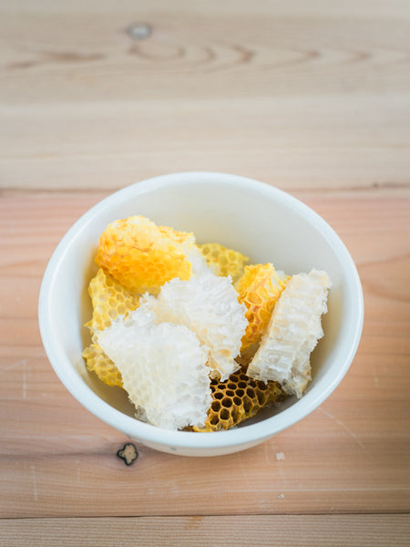 beeswax in bowl
