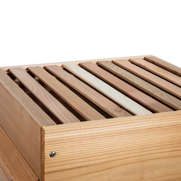 Warre box with bars