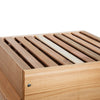 Cedar Warre box with bars