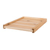 Cedar solid bottom board
