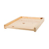Sugar pine solid bottom board