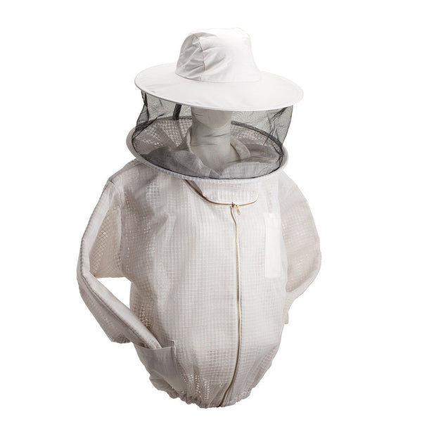 Ventilated Beekeeping Jacket with Veil