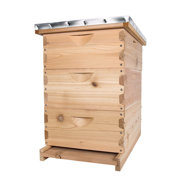 Western red cedar medium hive kit