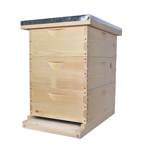 Sugar pine medium hive kit