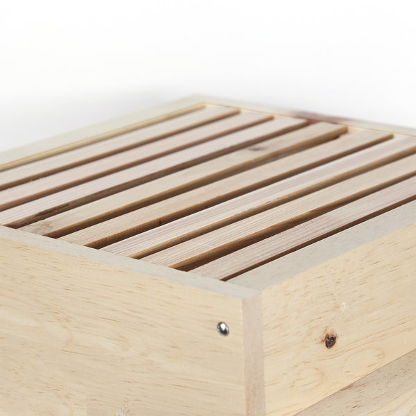Warre hive top bars from sugar pine