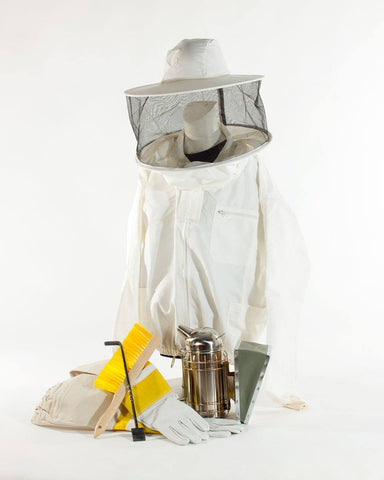 Beekeeping Starter Kit with jacket and accessories