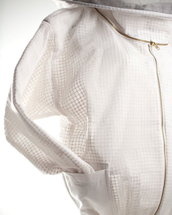 Close up ventilated bee jacket