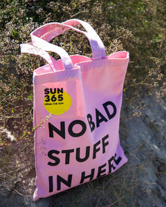 SUN365 ECO FRIENDLY COTTON SHOPPING BAG