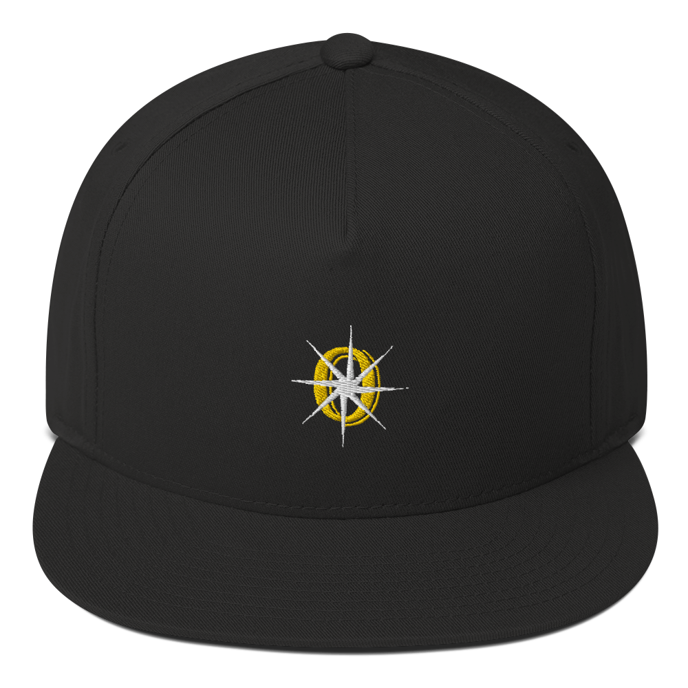 Our Inner Sparks Embroidered Logo Flat Bill Cap