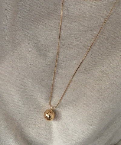 Long Ball Necklace 롱볼 목걸이