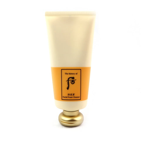 [Sold Out] THE HISTORY OF WHOO Gongjinhyang Facial Foam Cleanser