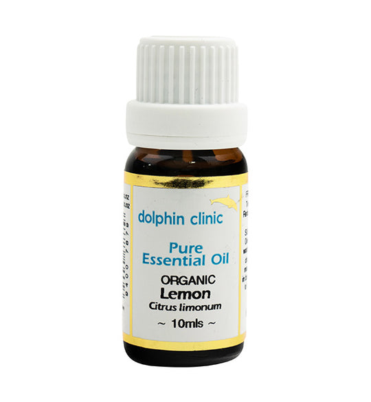 Lemon Certified Organic Essential Oil 10ml