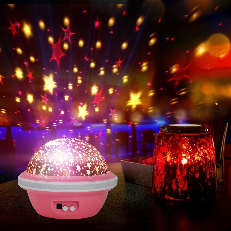 UFO Shaped Star Master Dream Projection Lamp