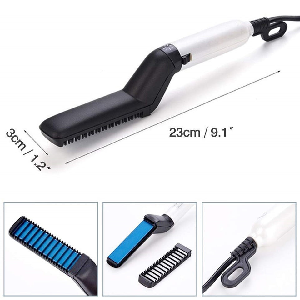 ELECTRIC HAIR COMB FOR MEN