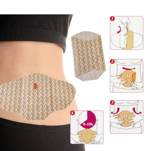 MYMI WONDER PATCHES|BELLY FAT TRIMMER|NATURAL AGENT|5 PCS