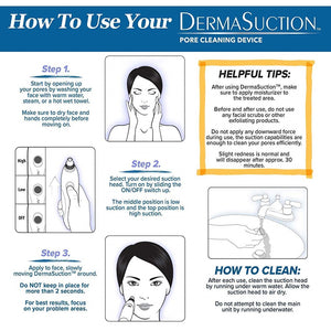 4 IN 1 DERMA SUCTION MACHINE FOR BLACKHEADS