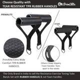 Fitness Resistance Bands With Handles
