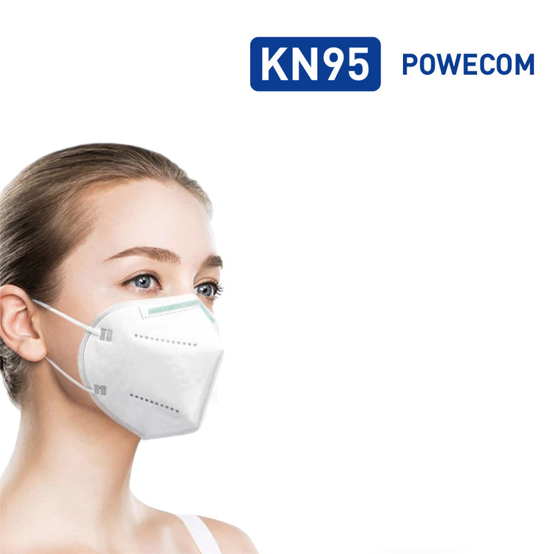 CDC Tested Powecom 99% Filtration KN95 Respirator Face Masks (30 - 300 Packs)