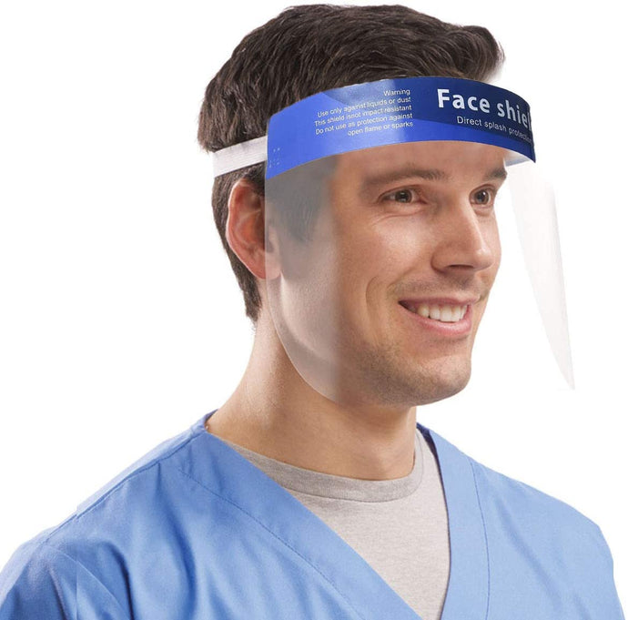 Reusable Safety Face Shield - [SeattlePPE.com]