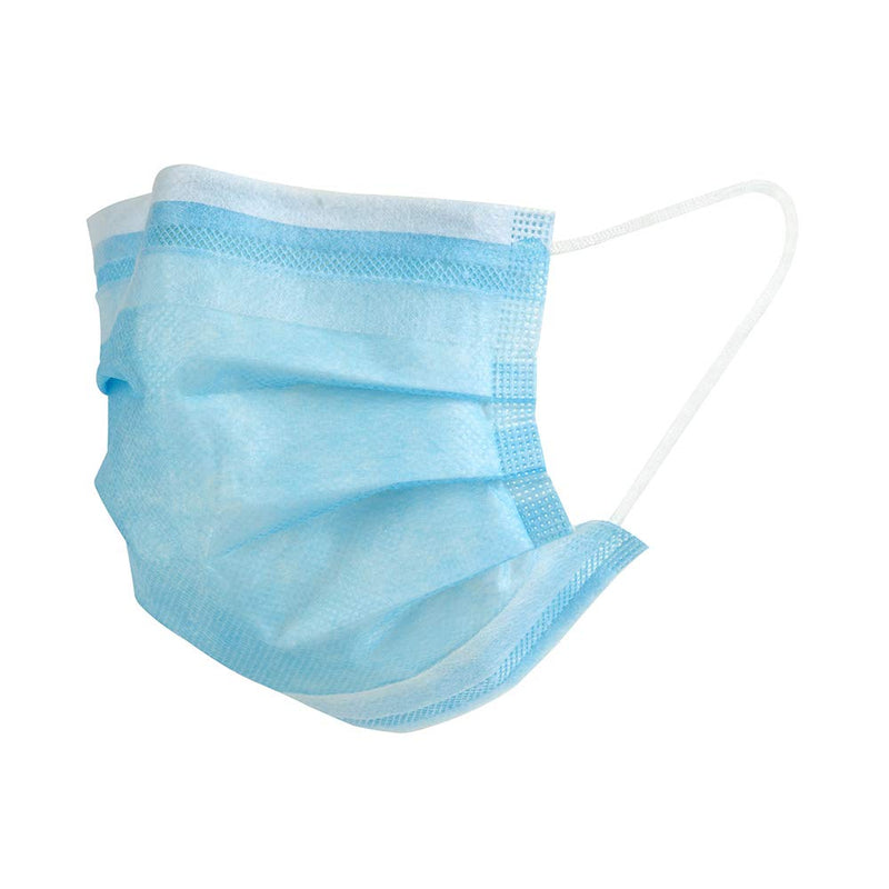 Disposable 3-ply Face Masks (50 - 300 Masks) - SeattlePPE