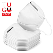 Load image into Gallery viewer, TUGU KN95 Multi-layer Protection 95% Filtration Respirator Face Masks (5 to 300 Pack)