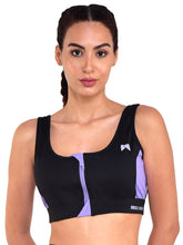 Load image into Gallery viewer, Running/Workout Sports Bra Front Zip - (BP)