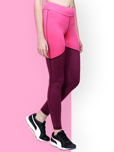 Gym/Yoga Tight  - Solid Pink