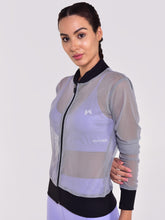 Load image into Gallery viewer, Front Zipper Sweatshirt Breathable Mesh - (LG)