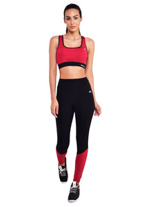 Gym/Yoga High Waist Tight With Sport Bra Complete Set - (BR)