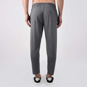 Solid Men Grey Track Pants