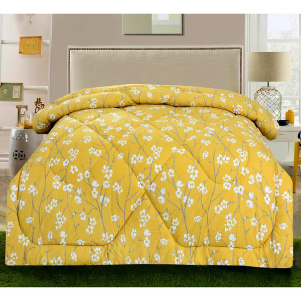 1 Pc Comforter Pansy Floral - Daffodils Home