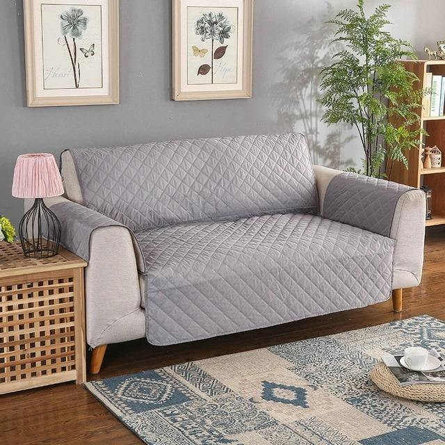 SOFA COVER-GREY