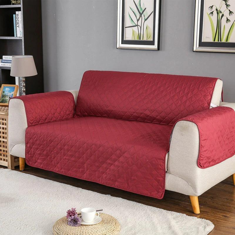 SOFA COVER-RED