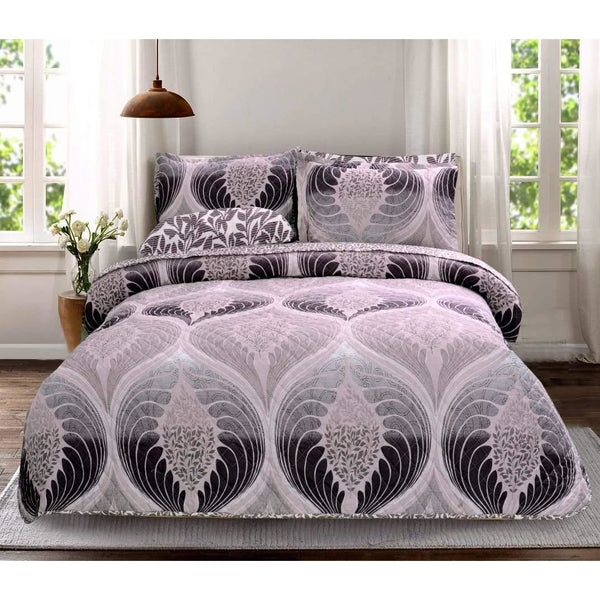 6 PCs BED SPREAD SET-BDH0100