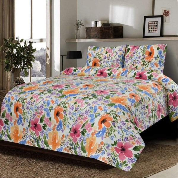 3PCs Bed Sheet King DH-0001 - Daffodils Home