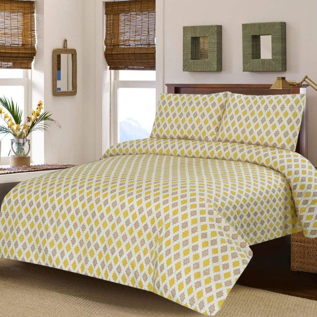3PCs Bed Sheet DH0002 - Daffodils Home