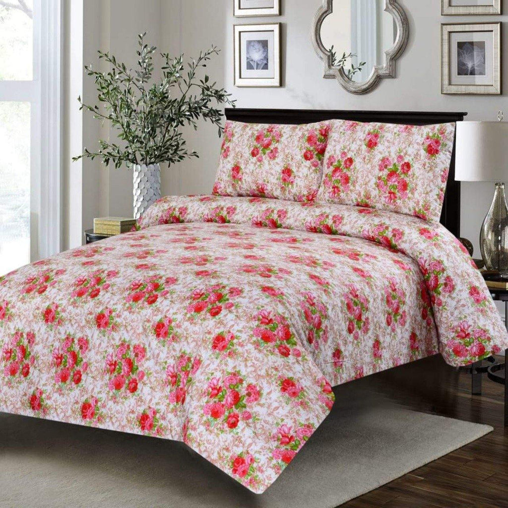 3PCs Bed Sheet DH0010 - Daffodils Home