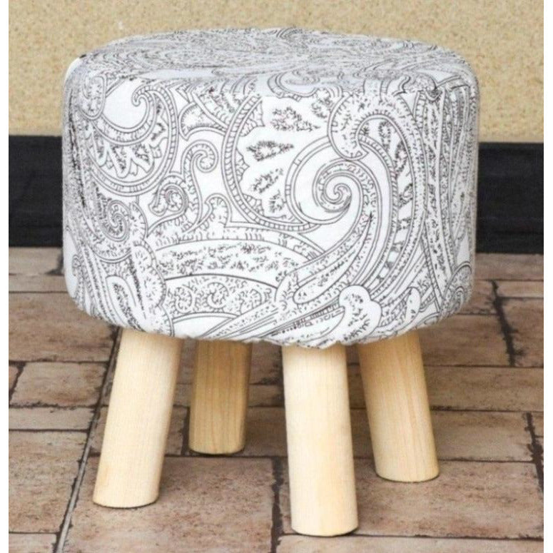 Wooden Round Stool-WS0014