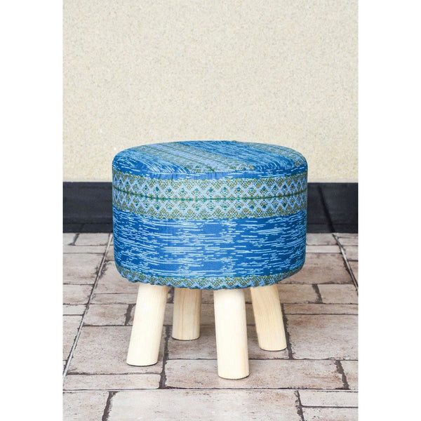 Wooden Round Stool-WS0016