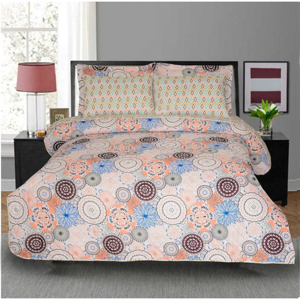 6 PCs BED SPREAD SET-BDH0107 - Daffodils Home