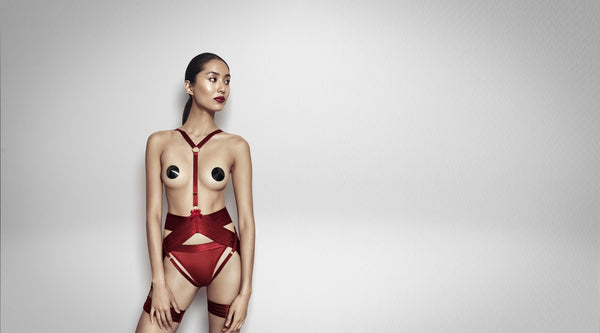 Trend to try: Sexy Lingerie Harnesses - Avec Amour Lingerie Boutique