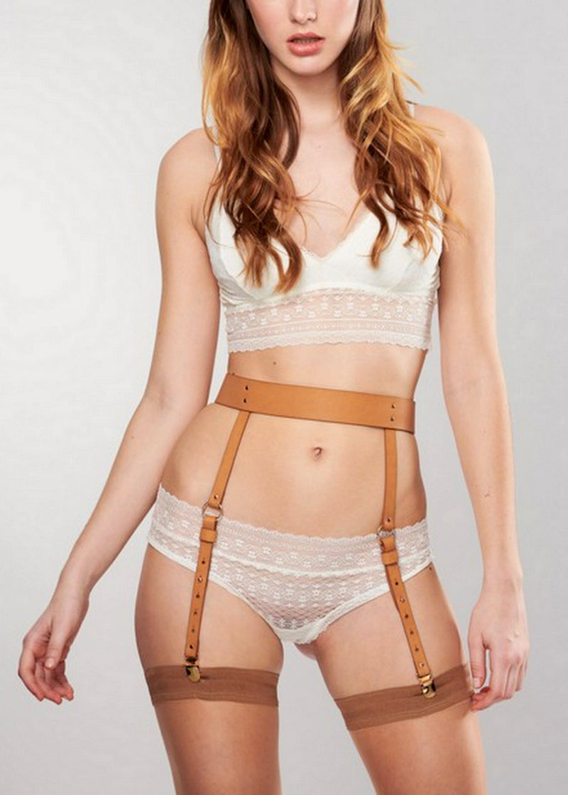 Maze Suspender Belt-Bottoms-Bijoux Indiscrets-AvecAmourLingerie