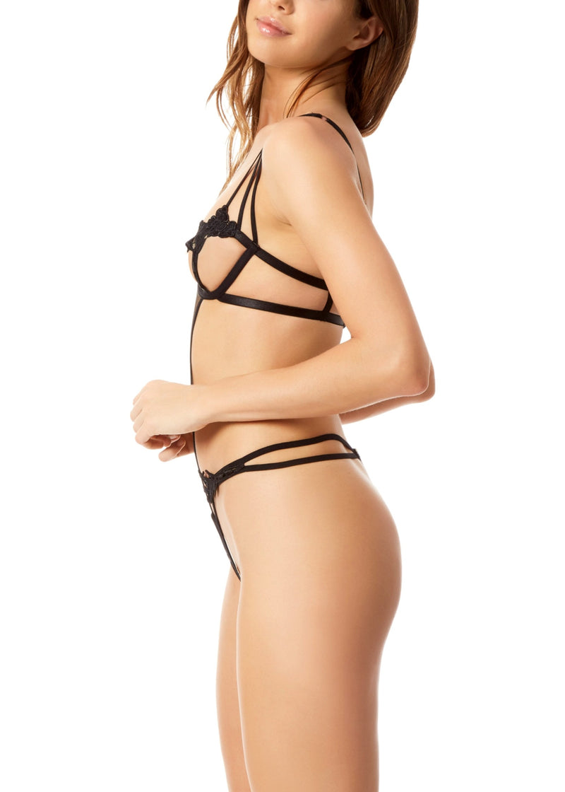 Nova Body (Black)-Bodywear-Bluebella-AvecAmourLingerie