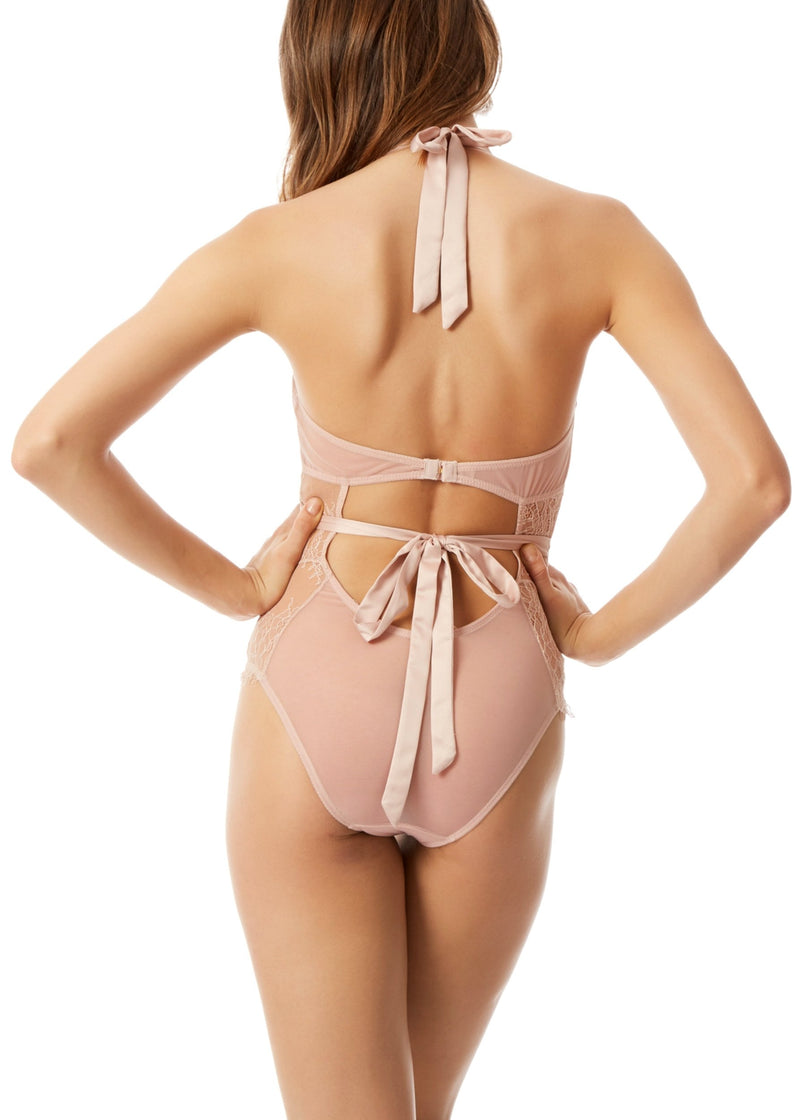 Bluebella Amelie Body (Rose Dust) - Avec Amour Lingerie Boutique